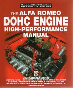 Alfa Romeo DOHC engine high-performance manual