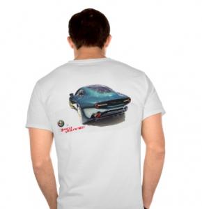Alfa Romeo Disco Volante T-shirt back